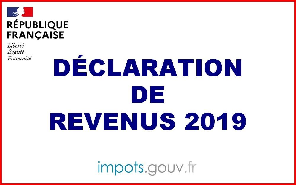 Déclaration 2020 des Revenus 2019